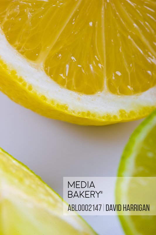 Lemons and Limes - Close-up view