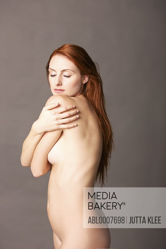 Nude Woman Looking over shoulder