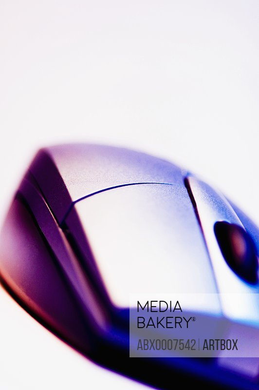 Close-up of a computer mouse