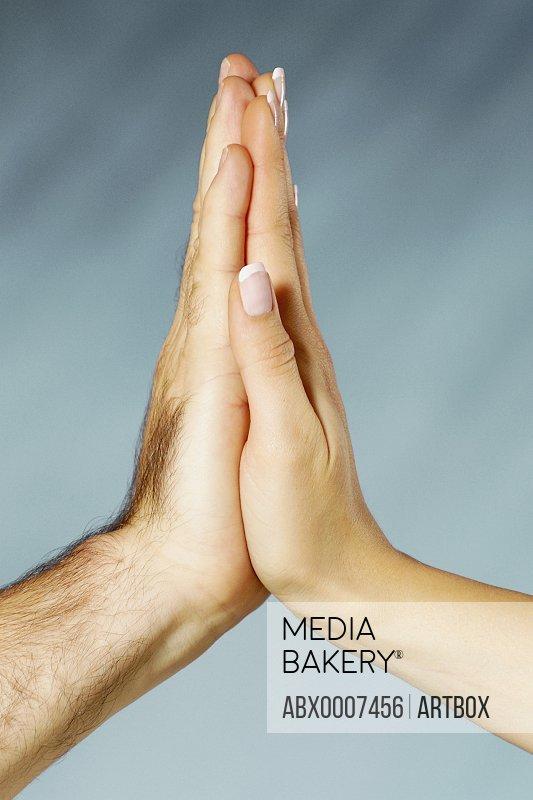 Close-up of human hands