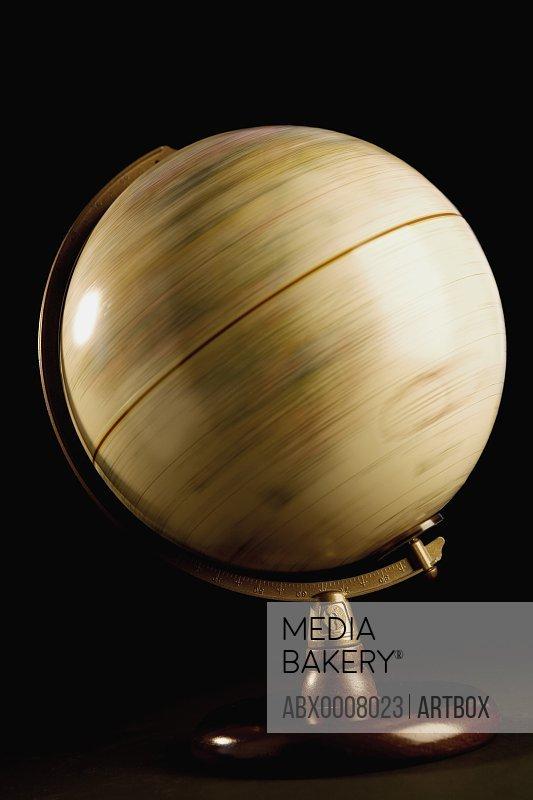 Close-up of a globe