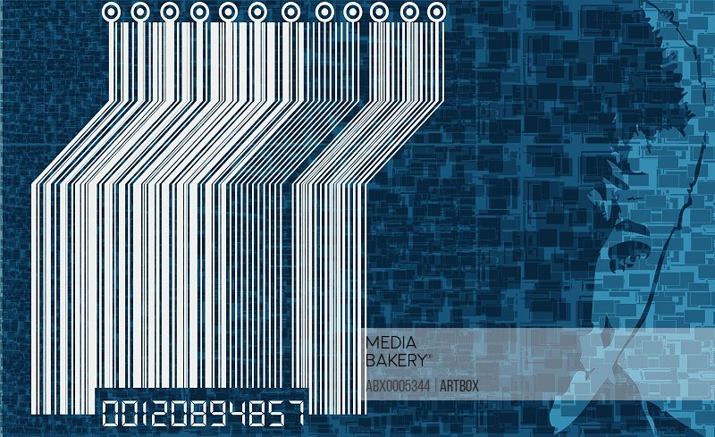 Close-up of bar code
