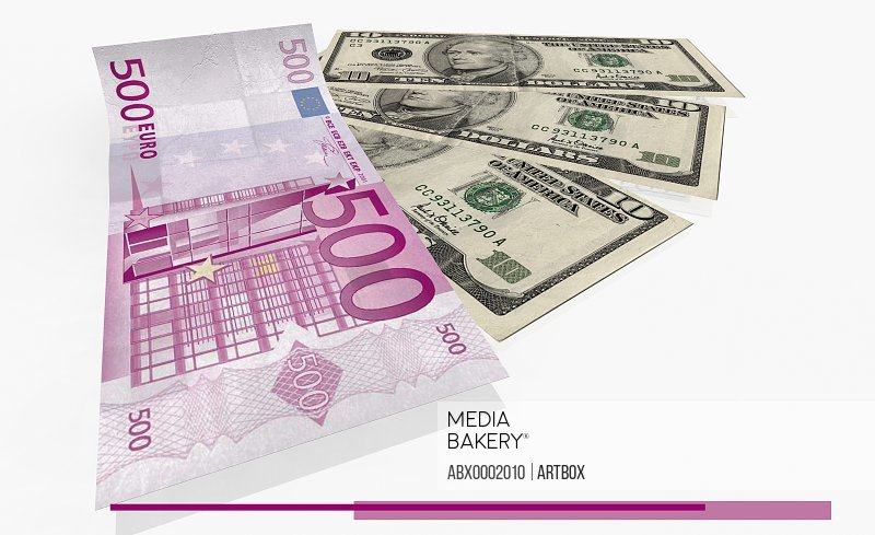 Euro and american currency