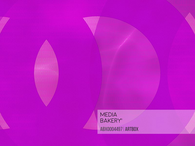 Circular pattern on a purple background