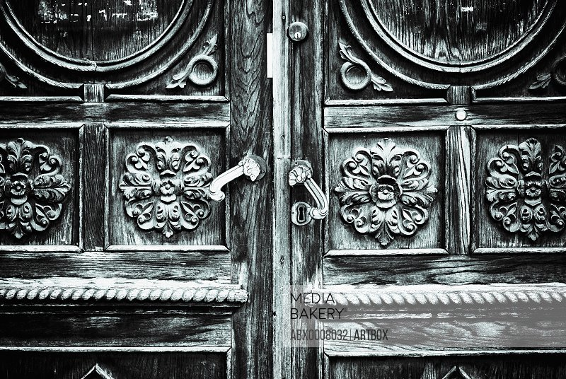 Close-up of a door