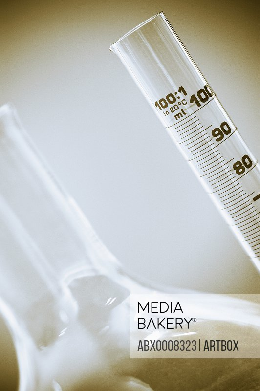 Close-up of laboratory equipments