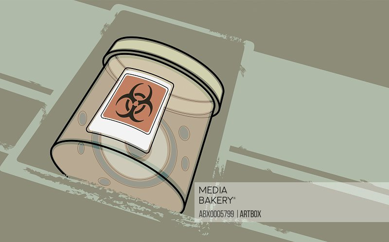 Bio-hazard container