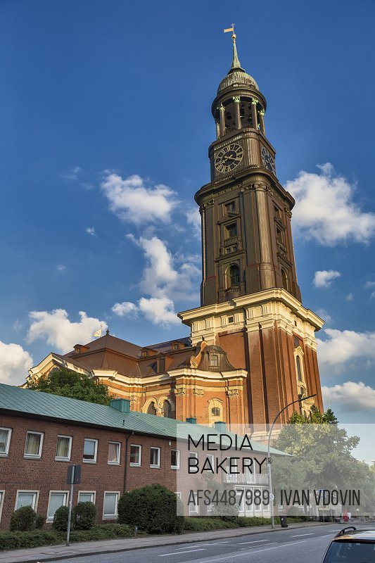 St. Michaeliskirche (1786), Church of St. Michael, Hamburg, Germany.