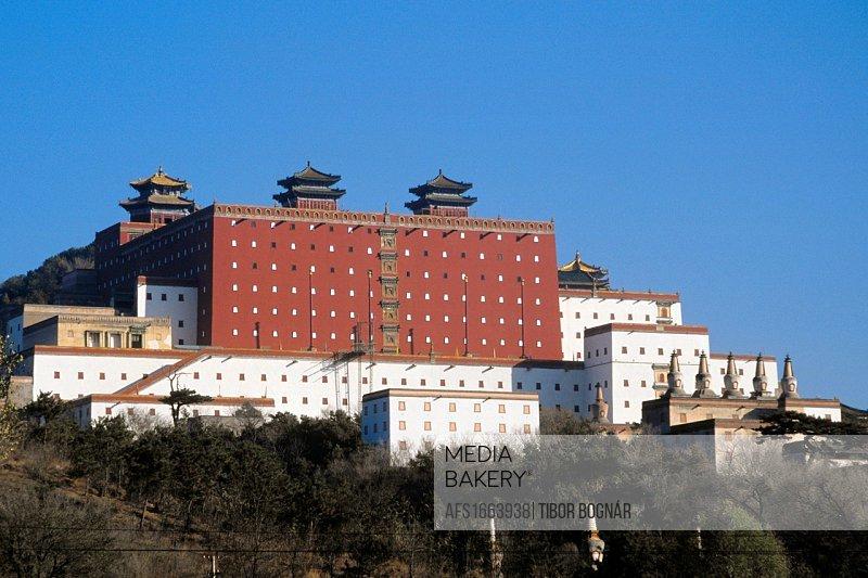 China, Hebei Province, Chengde, Temple of Potaraka Doctrine, Putuozongshengzhi Miao.