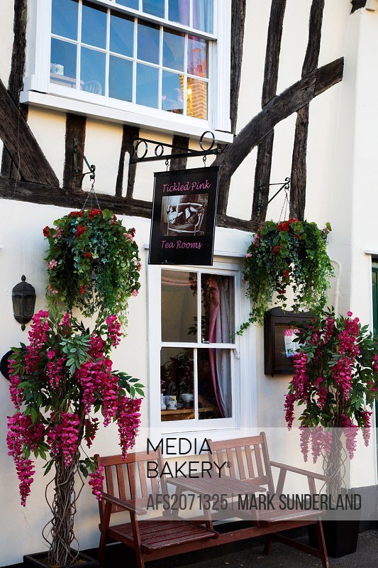 Tickled Pink Tea Rooms Lavenham Suffolk England