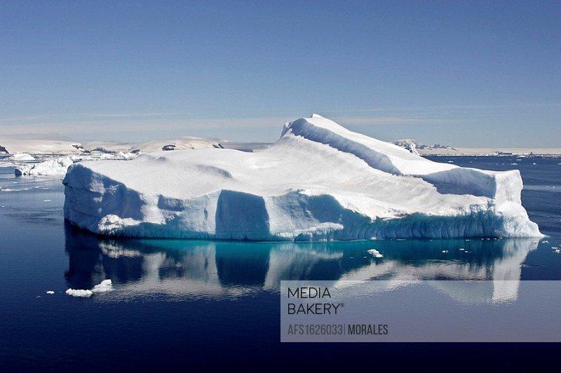 Iceberg in Antarctic Sound, Antarctica