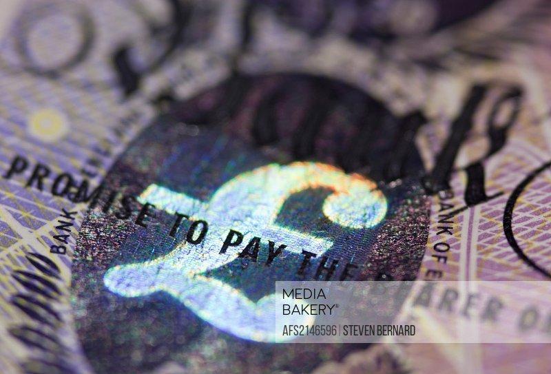 British twenty pound bank note