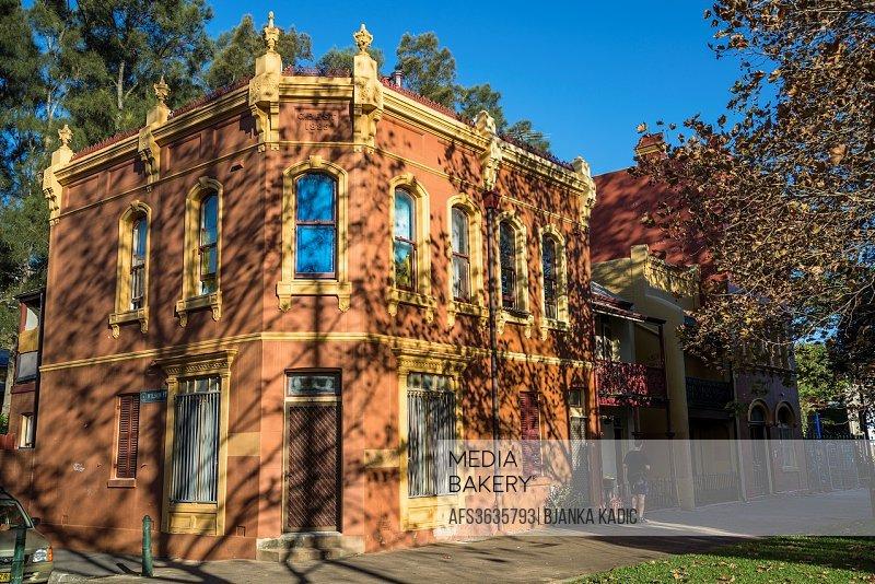 Residential house, Woolloomooloo, Sydney, Australia.