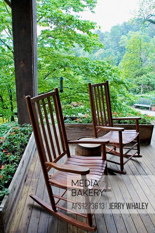 Sensational Mediabakery Photo By Age Fotostock Rocking Chairs On Ocoug Best Dining Table And Chair Ideas Images Ocougorg
