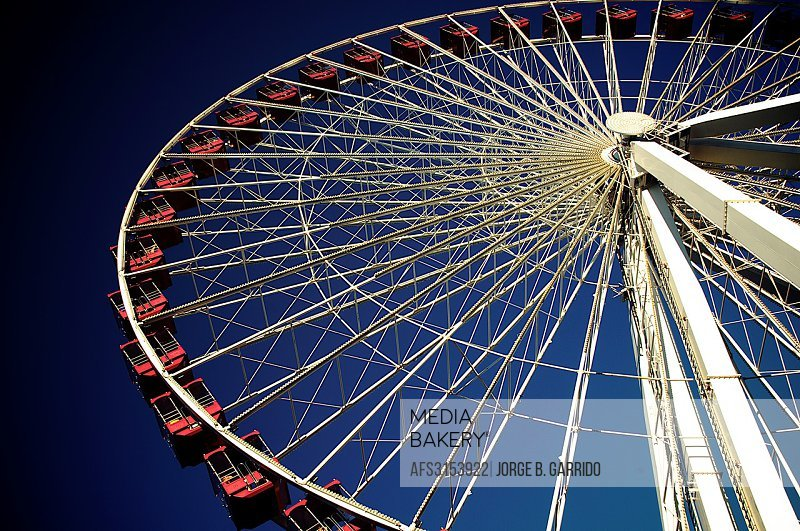 Chicago Navy Pier, wheel of fortune.