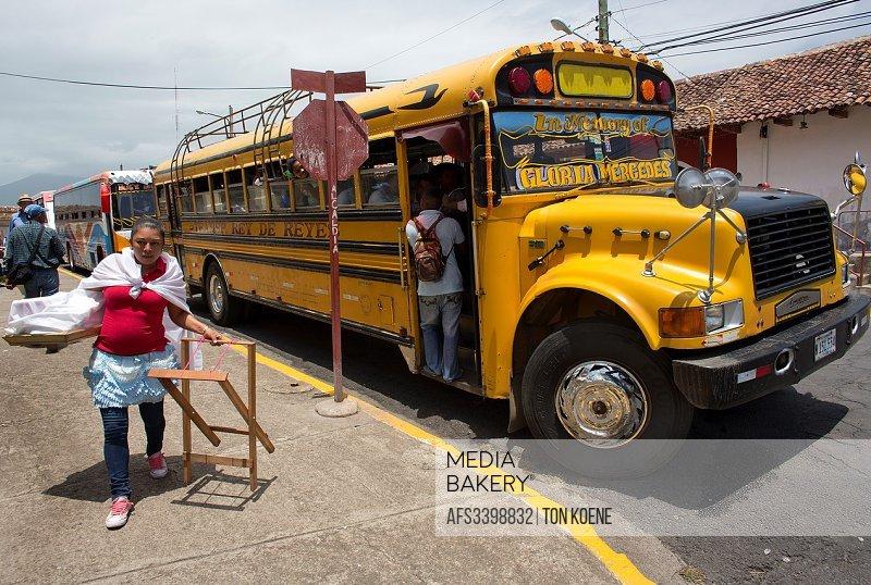 public transport in nicaragua.