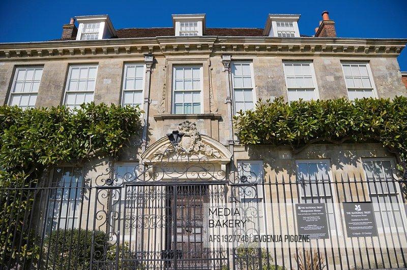 Mompesson House. Choristers Square. Salisbury. Wiltshire. England. UK.