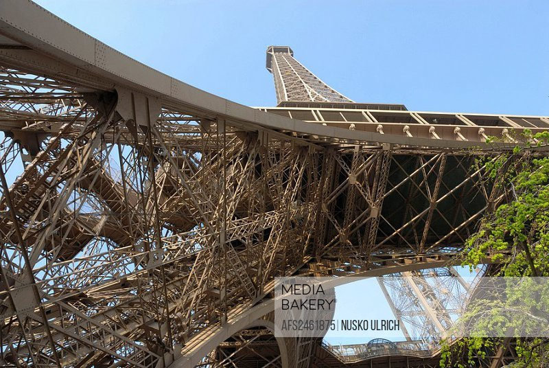 Eiffel Tower, high, tower, rook, France, symbol, l