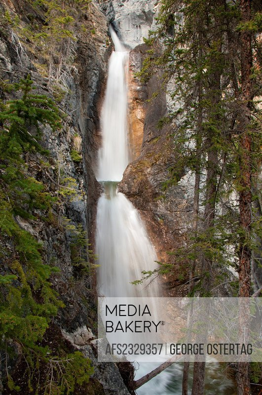 Silverton Falls, Banff National Park, Alberta, Canada