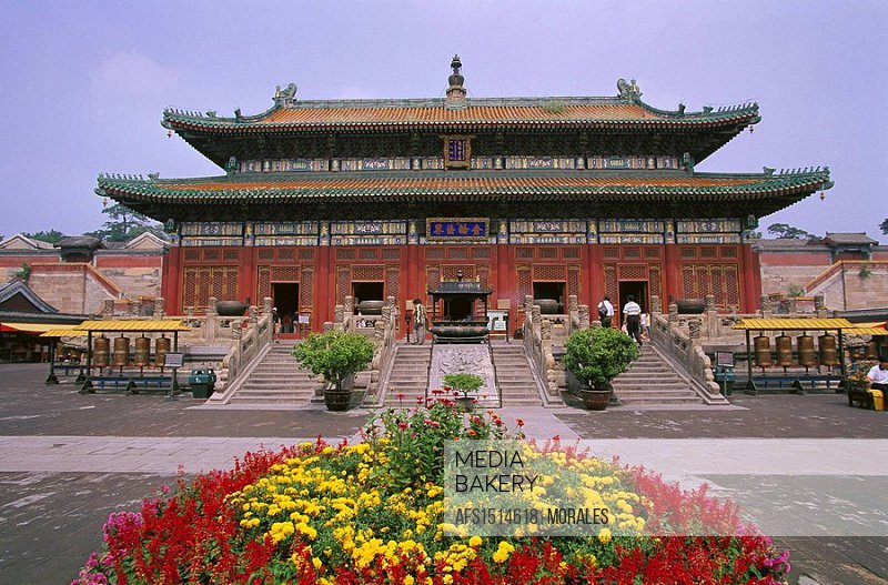 Temple, Chengde. Hebei, China