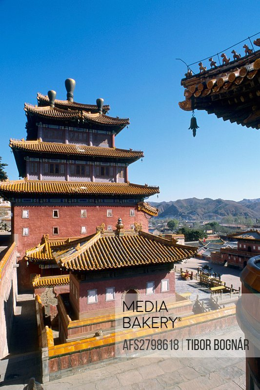 China Hebei Chengde Universal Tranquillity Temple