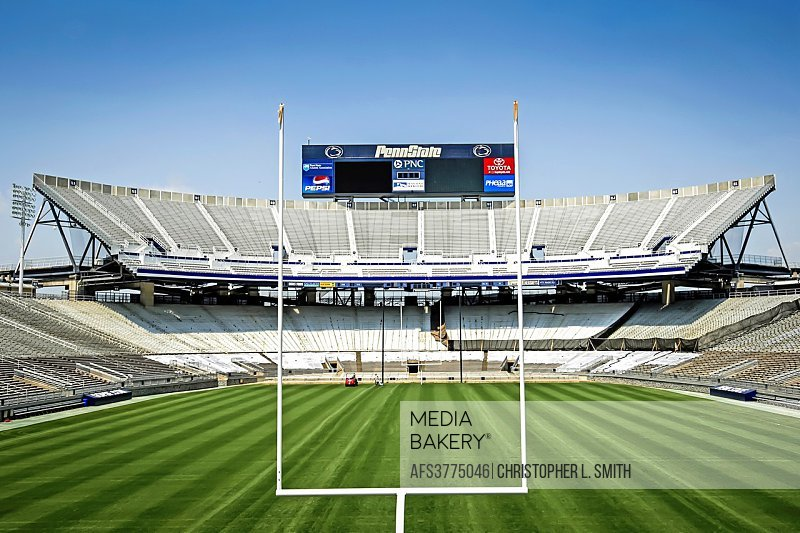 Penn State University Football Stadium at State College PA.