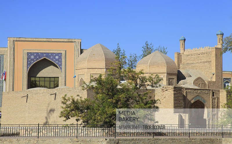 Uzbekistan; Bukhara; Maghok-i-Attar Mosque,.
