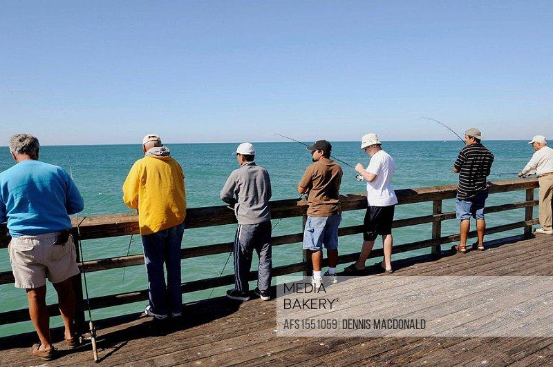 The famous Naples Florida Pier