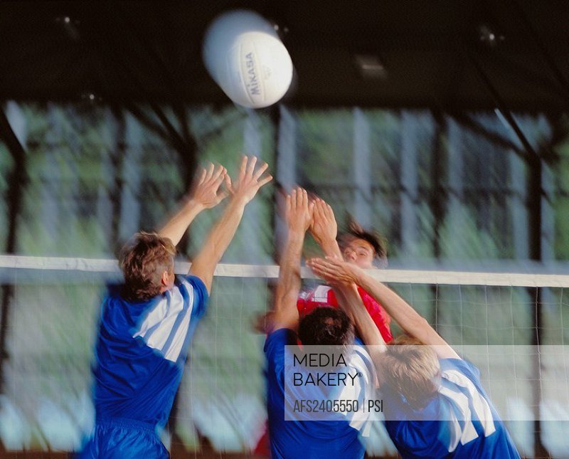 10068853, sport, volleyball, net action, teams, jump, blurs,