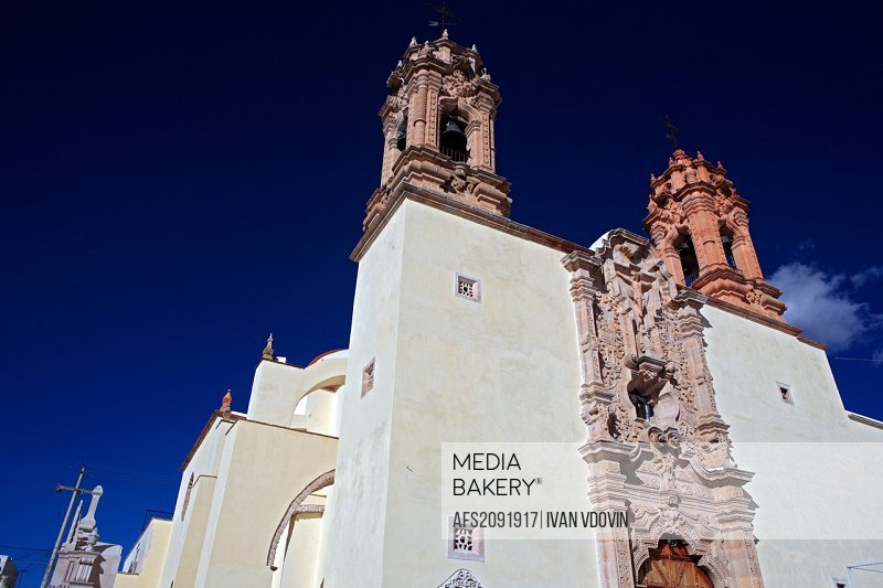 Sanctuary of Holy Child of Atocha 1789, Plateros, state Zacatecas, Mexico