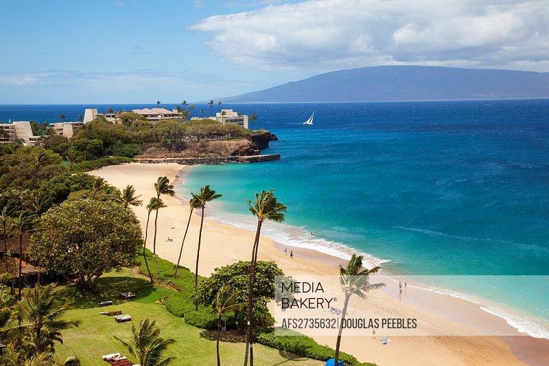 Mediabakery Photo By Age Fotostock Kaanapali Beach Maui