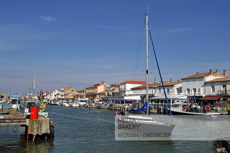 port of Grau du Roi, Gard department, Languedoc-Roussillon region, France, Europe