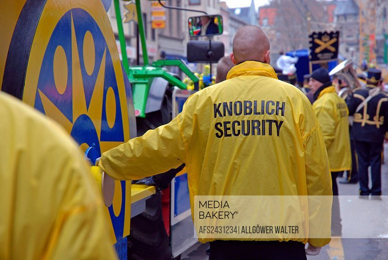Germany, Europe, Cologne, Carnival, Protection, Security, security, security guard, security guards, security forces,