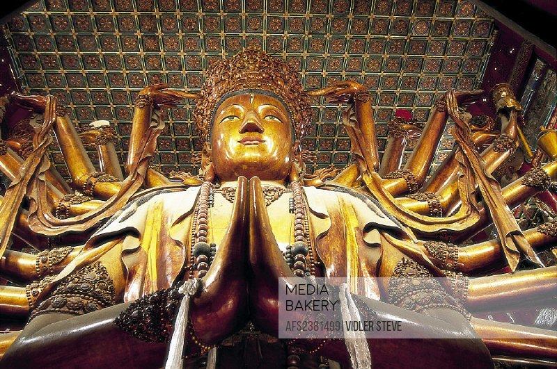 Architecture, Asia, Chengde, China, Chinese, Goddess, Guanyin, Hebei, Heritage, Historical, Holiday, Landmark, Mercy, Pagoda, Pr