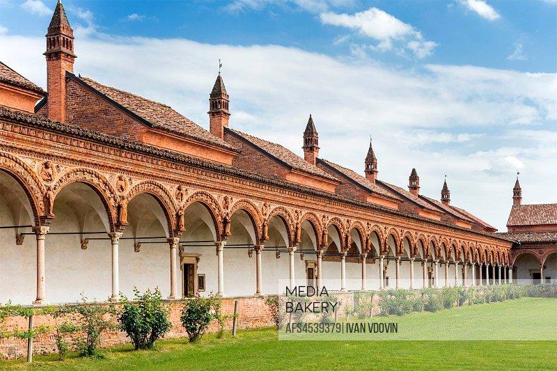 Certosa di Pavia monastery, Lombardy, Italy