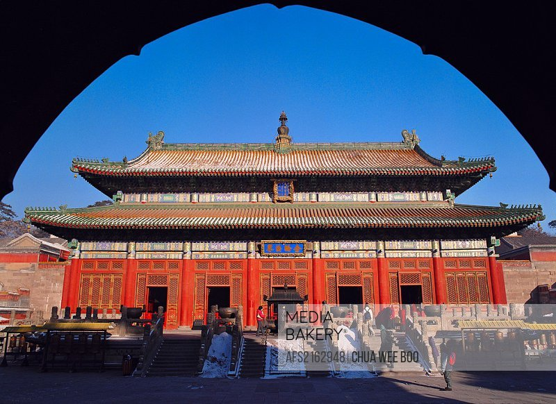 The Mahayana Temple, Chengde, China.