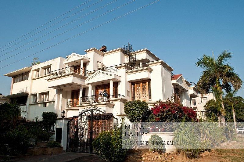 Posh residential house, Chandigarh, India