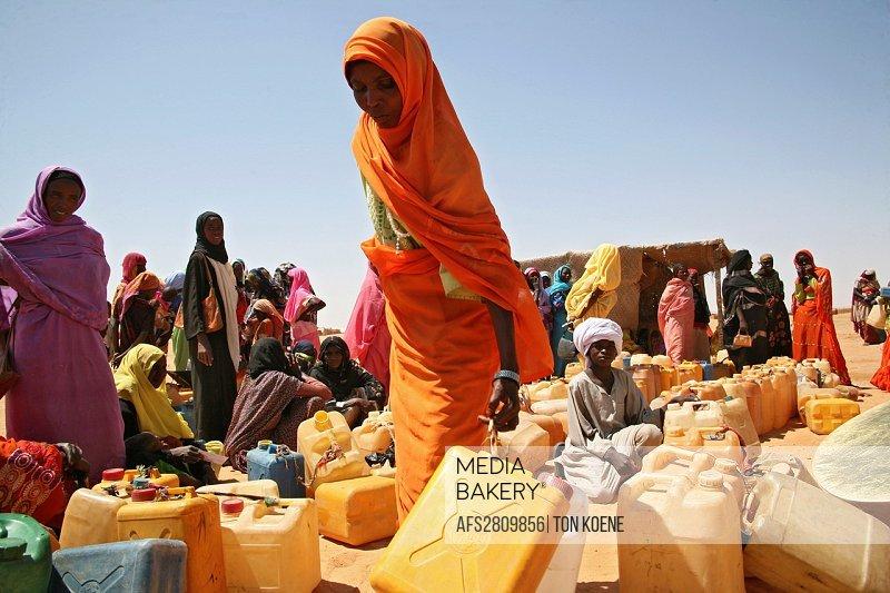Watersupply as humanitarian aid