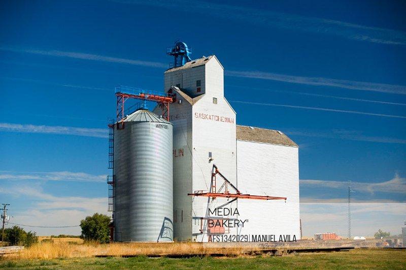 Grain elevator. Saskatchewan. Canada.