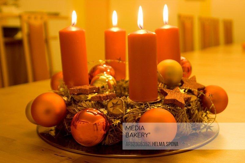advent wreath, 4th advent Sunday