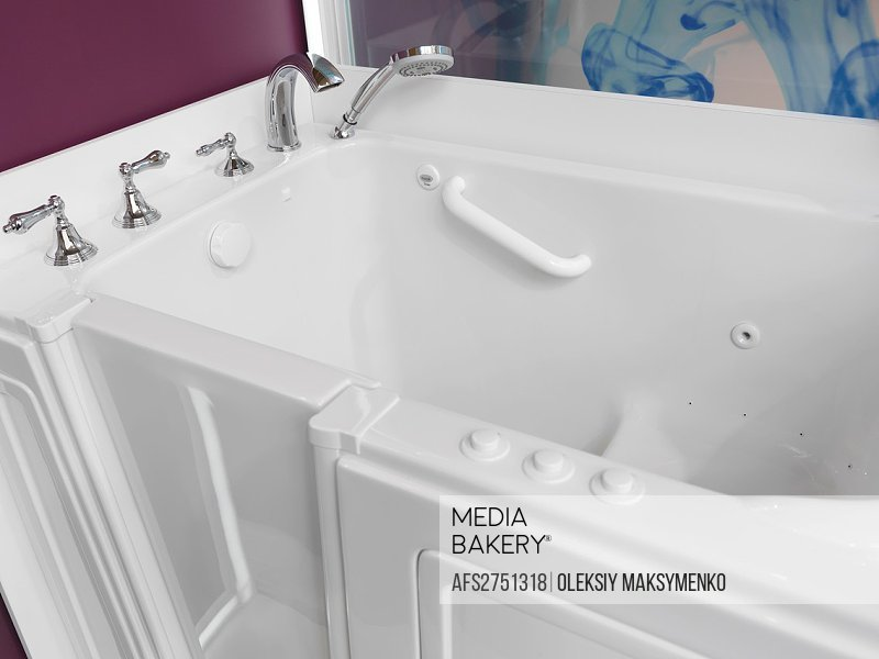 Mediabakery - Photo by Age Fotostock - Accessible bathroom Sitting ...