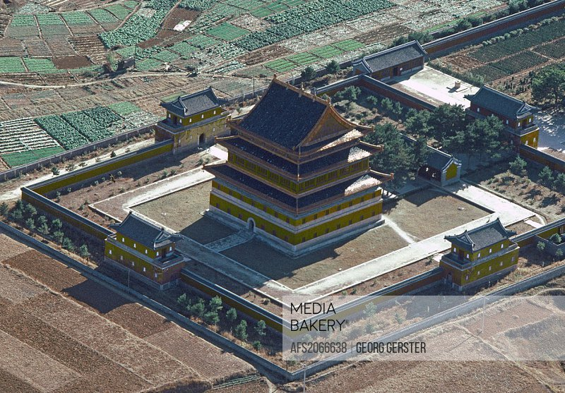 China Chengde temple called An yuan miao also known as ´The Illi Valley Temple´, because it imitates a temple in that region of Xinjiang, built in 176...