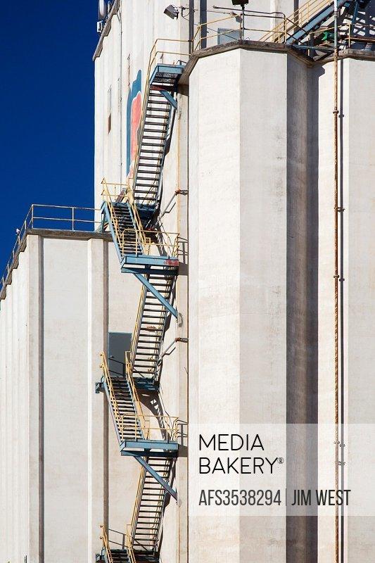Denver, Colorado - Grain elevator.