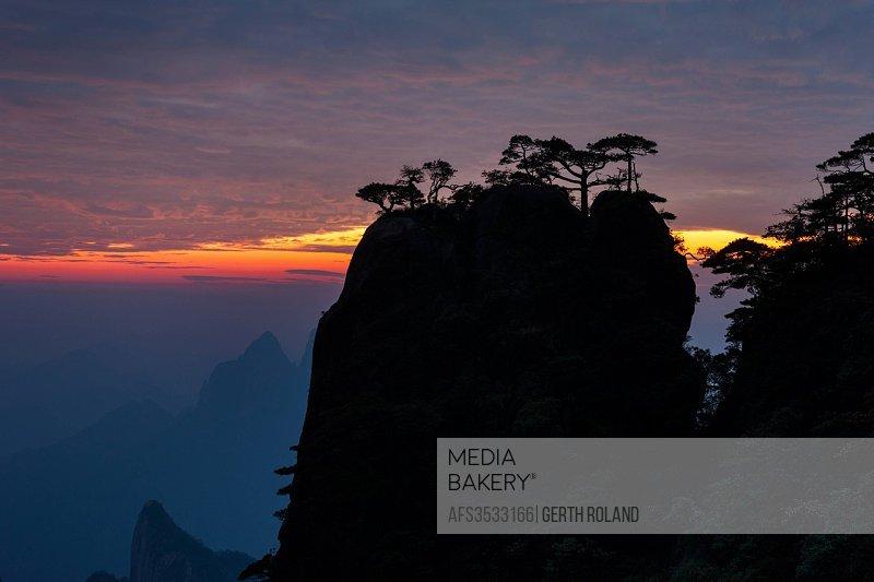 Sanquingshan national park, Jiangxi province