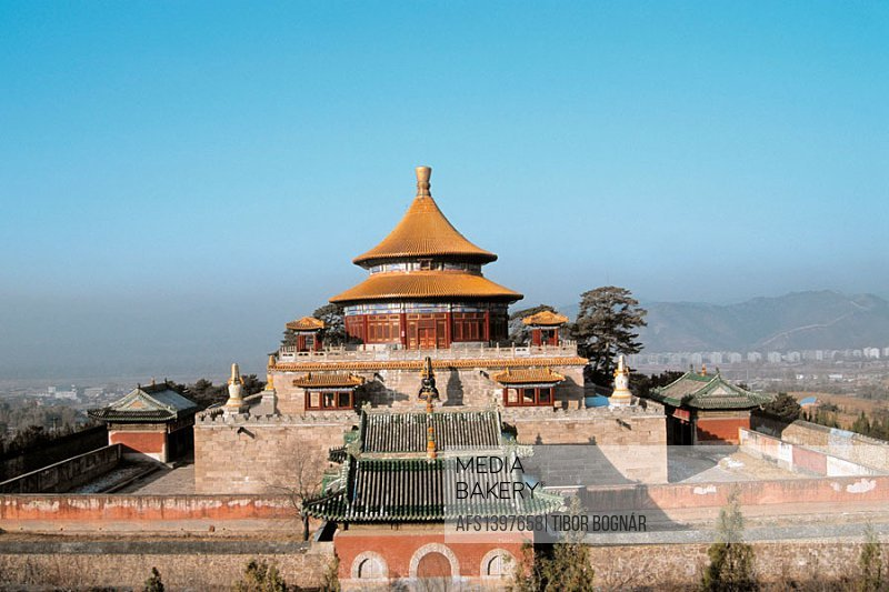 Pule Si (Temple of Universal Hapiness). Chengde. Hebei province. China