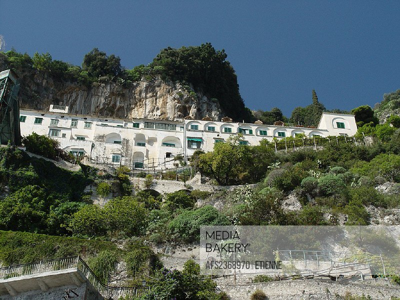 Amalfi town, building, Campagna, city, coast, construction, home, house, inclination, Italy, Europe, mediterranean,