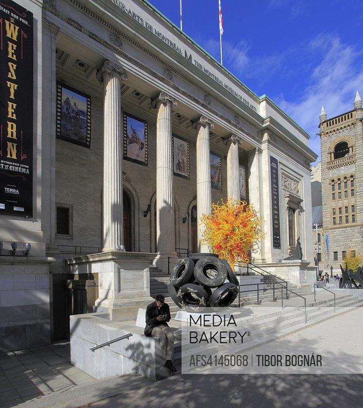 Canada, Quebec, Montreal, Museum of Fine Arts,.