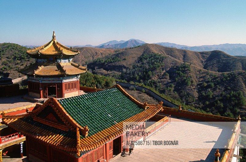 China, Hebei, Chengde, Temple of Potaraka Doctrine,