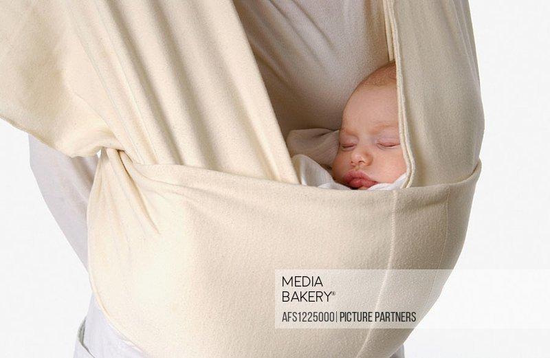 Baby in strap