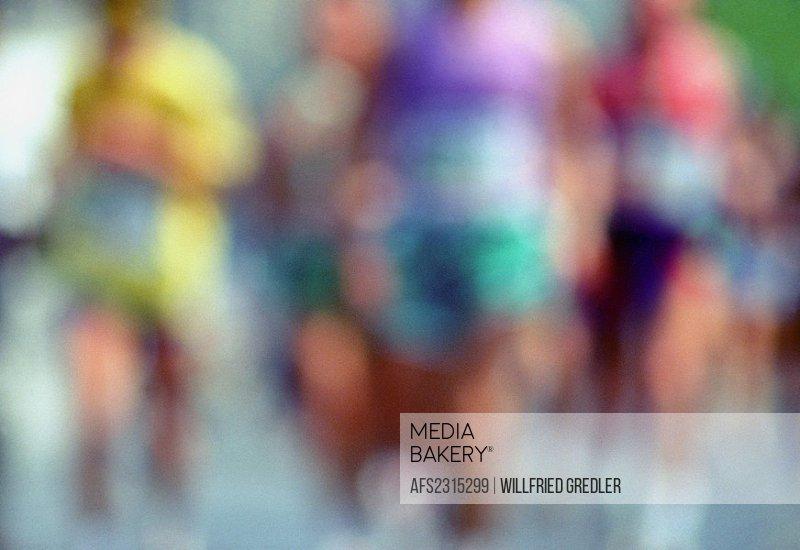 running sports _ blurred